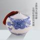 龙腾海天陶瓷罐-