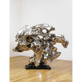不锈钢雕塑-1-45 -SS-044