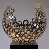 不锈钢雕塑-1-18 -SS-017