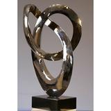不锈钢雕塑-1-21 -SS-020