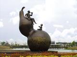 铜雕塑 -S-834