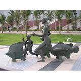 铜雕塑 -S-836