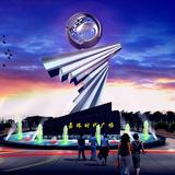 灯饰雕塑 -S-1011
