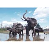 铜雕塑 -S-852