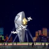 灯饰雕塑 -S-1004