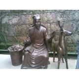 铜雕塑 -S-833