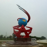 部队雕塑-2