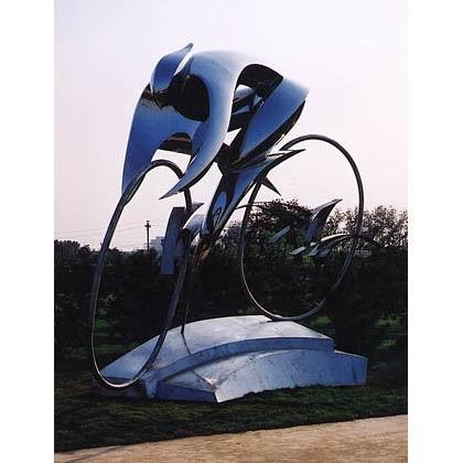 不锈钢雕塑 KS-588