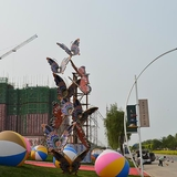 不锈钢雕塑 -KS-2007
