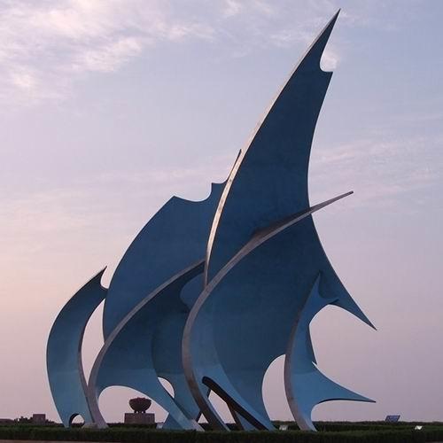不锈钢雕塑 KS-542