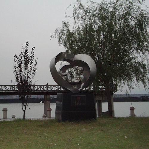 不锈钢雕塑 KS-2044