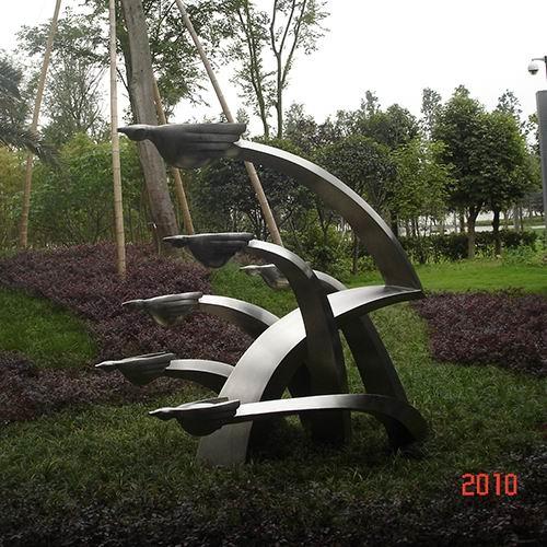不锈钢雕塑 KS-2025