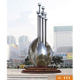 不锈钢雕塑-30 -S-041