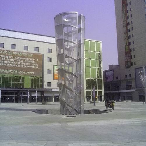 耐力板(亚克力板)雕塑-2-S-1013