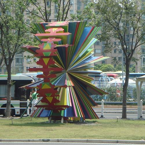 不锈钢雕塑 KS-695