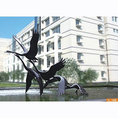 銅雕塑-S-382