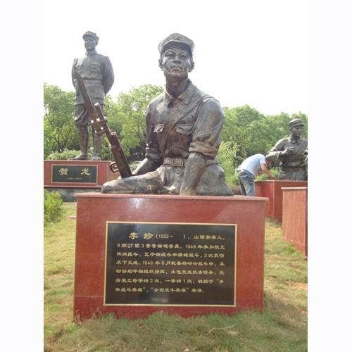 部队雕塑 KS-048