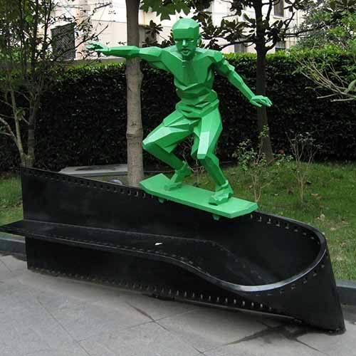 体育竞技雕塑-21-S-595