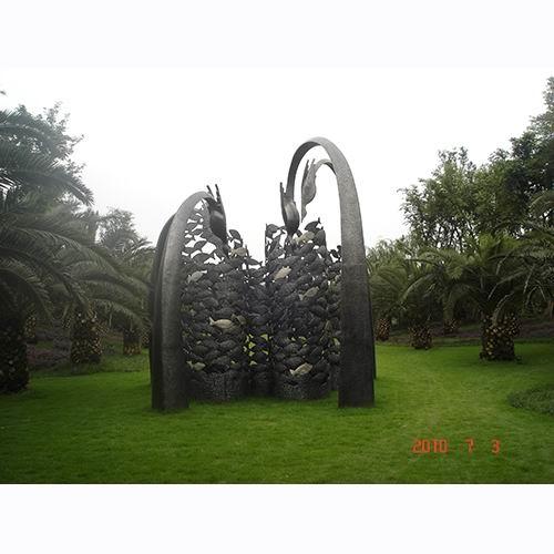 不锈钢雕塑 KS-2024