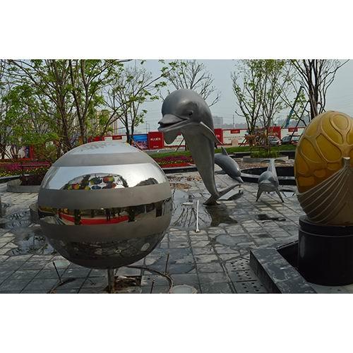 不锈钢雕塑 KS-2006
