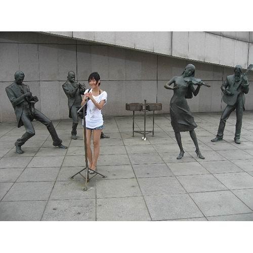 乐队、乐器雕塑-7-S-795