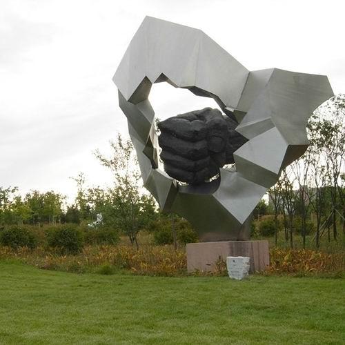不锈钢雕塑 KS-525