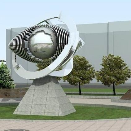 企业雕塑 KS-687
