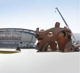 江西鹰潭体育馆雕塑《太极》