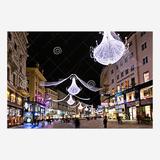 圣诞街景装饰雕塑-1