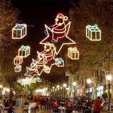 圣诞街景装饰雕塑-36