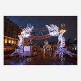 圣诞街景装饰雕塑-2
