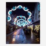 圣诞街景装饰雕塑-8