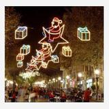 圣诞街景装饰雕塑-13