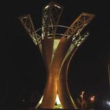 灯光雕塑-438