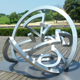 不锈钢雕塑-1
