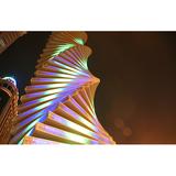 灯光雕塑-433