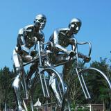 不锈钢雕塑-4