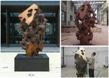 不銹鋼雕塑主支架如何設計?
