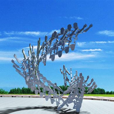 体育竞技雕塑-9-