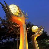 灯光雕塑-95