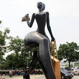 商业街雕塑-3
