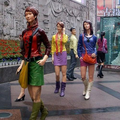 商业街雕塑-5-