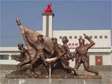 鑄銅雕塑生銹、剝落的原因及處理辦法