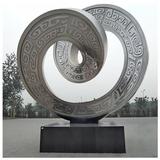 不銹鋼雕塑的形塑特點和設計元素