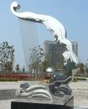 不銹鋼雕塑主支架如何設計,工藝流程怎樣?