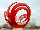 不锈钢雕塑如何制作,主支架如何设计?