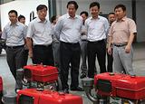 2014年农业部农机化司司长宗锦耀来公司视察