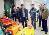 2010年江西省農業廳副廳長彭濟民來公司考察