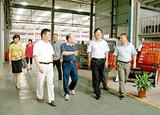2013年省科技廳黨組書記、廳長周國輝來四方調研指導科技創新工作