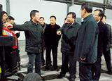2013年副省長毛光烈來我公司開展現代農機裝備產業技術創新綜合試點工作調研
